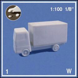 Camion blanc 1:100