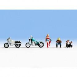 N/ Motos et Motocyclistes