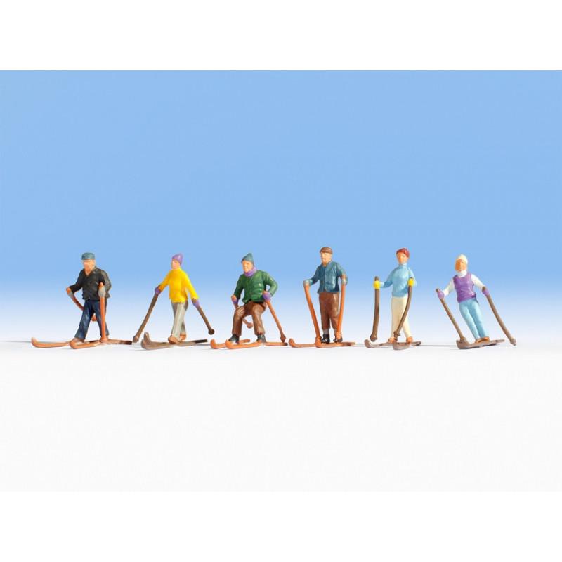 HO/ 6 Skieurs