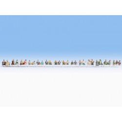 HO/ Mega set 30 personnages Voyageurs