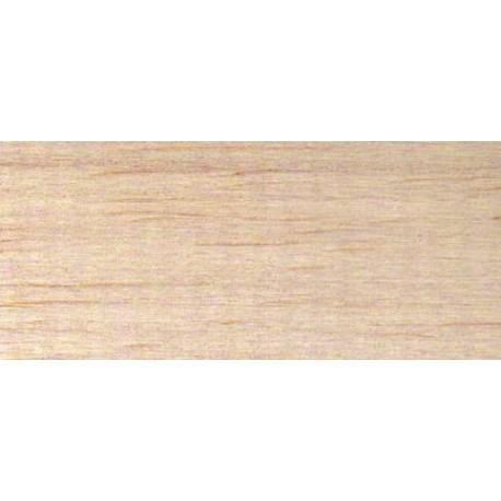 Planche BALSA 1m x 10cm x 1,0mm