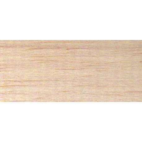 Planche BALSA 1m x 10cm x 1,5mm