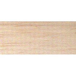 Planche BALSA 1m x 10cm x 15mm