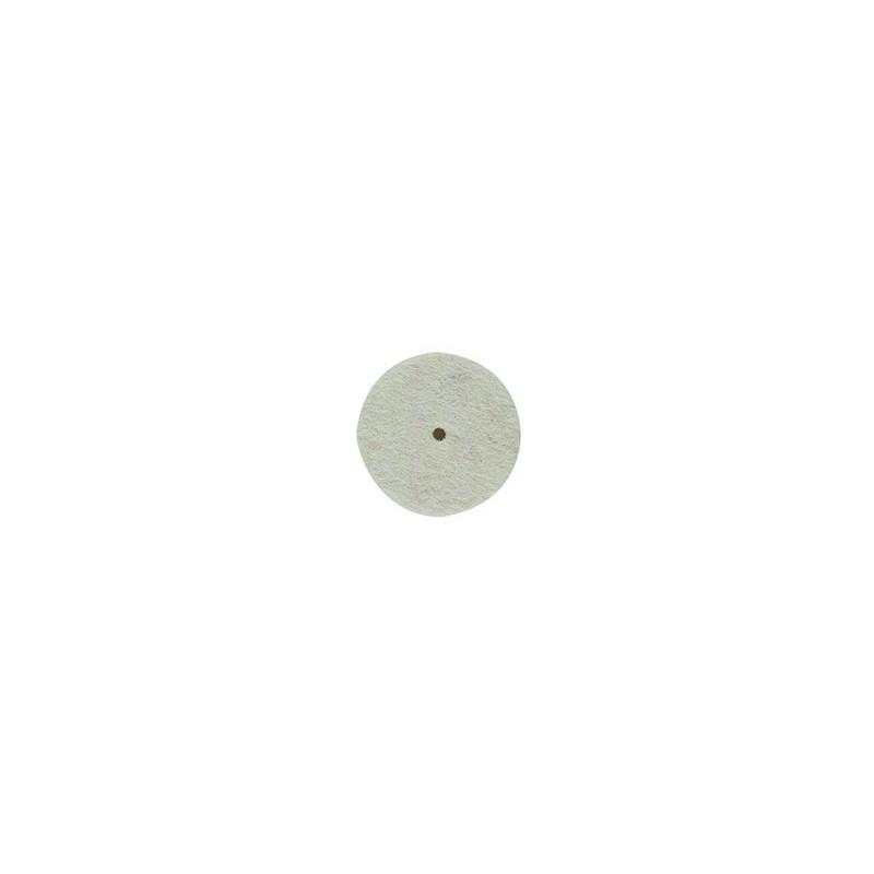 Disque en feutre pour le glaçage - Diamètre 22 mm - 10pcs