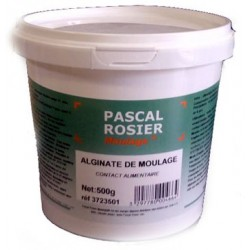 Alginate de moulage contact alimentaire 500g ou 2kg