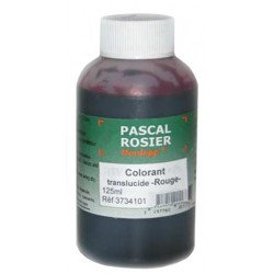Colorant transparent rouge 125 ml