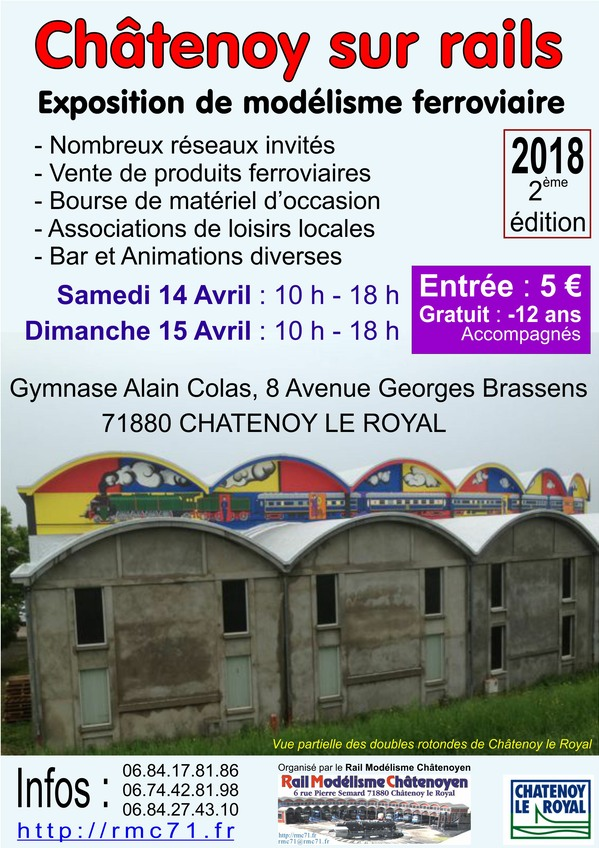 Affiche Expo Chatenoy