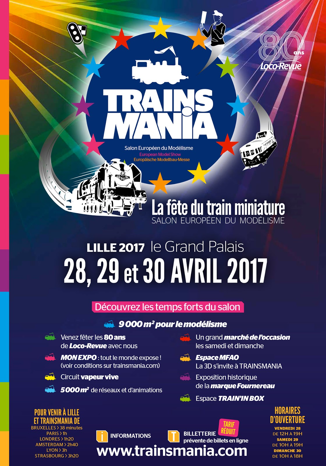 Exposition Train Mania Lille
