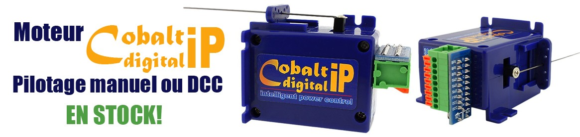 Moteur d'aiguillage digital DCC Concept